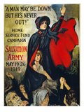 Salvation Army Poster, 1919