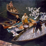 N.C. Wyeth: Fishermen