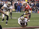 San Francisco 49ers and New Orleans Saints: Vernon Davis and Roman Harper