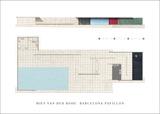 Barcelona Pavillon Art Print