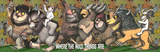 Where The Wild Things Are - King Max Poster