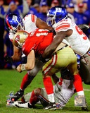 Osi Umenyiora & Jason Pierre-Paul Sack NFC Championship Game