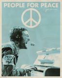 John Lennon - People for Peace Mini Poster