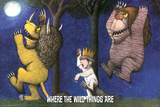 Where The Wild Things Are - Under The Moon Poster