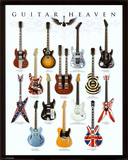 Guitar Heaven Mini Poster