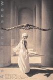 Eagle with Dancer, Santa Monica Art Print