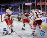 Brad Richards, Brandon Dubinsky, &amp; Ryan Callahan 2012 NHL Winter Classic Action