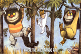 Where The Wild Things Are - Hanging From Trees Poster
