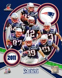 New England Patriots 2011 AFC Champions Team Composite