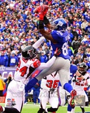 Hakeem Nicks Touchdown Catch 2011 NFC Wild Card Playoff Action