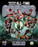 Boston Celtics All Time Greats Composite