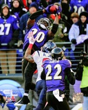 Ed Reed Interception AFC Divisional Playoff Game Action