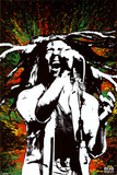 Bob Marley - Paint Splash Poster