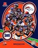 Denver Broncos 2011 AFC West Division Champions Team Composite