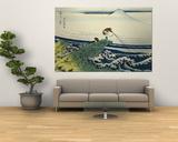 Soshu Kajikazawa in Kai Province from the Series the Thirty-Six Views of Mount Fuji