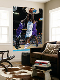 Sacramento Kings v New Orleans Hornets: Emeka Okafor and Carl Landry
