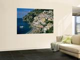 Buy Amalfi Coast, Coastal View and Village, Positano, Campania, Italy at AllPosters.com