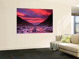 Sunset Reflected in the Waters of the Rio Blanco Laminated Oversized Art