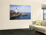 Portland Head Lighthouse Laminated Oversized Art