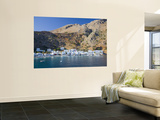 Loutro Village Laminated Oversized Art