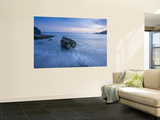Dusk on the Southern Crete Coastline Laminated Oversized Art