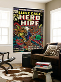 Marvel Comics Retro: Luke Cage, Hero for Hire Comic Book Cover No.11 (aged)