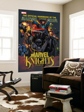 The Official Handbook Of The Marvel Universe: Marvel Knights 2005 Cover: Black Panther