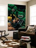 World War Hulk: X-Men No.2 Cover: Wolverine and Hulk