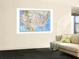 Carte des Etats-Unis 1993