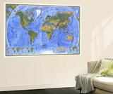 Carte du monde 1975