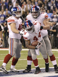 New York Giants and New England Patriots - Super Bowl XLVI - February 5, 2012: Ahmad Bradshaw