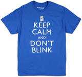 Dr. Who - Keep Calm and Don't Blink T-Shirt