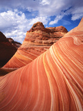 Colorful Sandstone Swirls in the Wave Formation, Paria Canyon, Utah, Usa