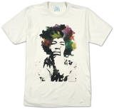 Jimi Hendrix - Watercolor Shirts from Concert Tee Company