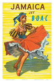 British Overseas Airways Corporation: Jamaica - Jet BOAC, c.1950s