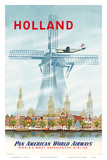 Pan American: Holland, c.1951