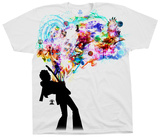 Jimi Hendrix- Soul Explosion Shirts from Concert Tee Company