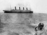 Last Picture of Titanic.