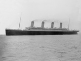 RMS Olympic. Off Roches Point, Cork, Ireland.