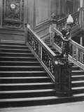 Grand Staircase of White Star Liner, RMS Titanic.