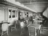 Café Parisien on RMS Titanic, 04/01/1912.