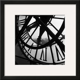 Orsay Clock Framed Art Print