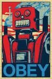 Robot Obey Poster