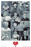 I Love Lucy Faces,