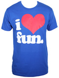 Fun. - I Heart Fun. (Slim Fit) T-Shirt