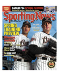 Houston Astros Andy Pettitte and Roger Clemens - February 16, 2004