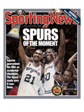 San Antonio Spurs Tim Duncan and David Robinson - 2003 NBA Champs - June 23, 2005