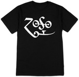 Jimmy Page - White Zoso Logo Poster Art