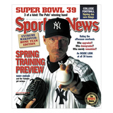 Sporting News Magazine February 18, 2005 - Spring Training Preview - Randy Johnson and the Yanke…