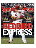 St. Louis Cardinals' Albert Pujols and Scott Rolen - November 10, 2006